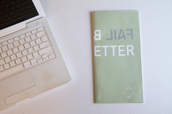Fail Better - IMPRINT zine