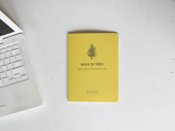 Book of Trees Both Native and Introduced © Paula McCartney
