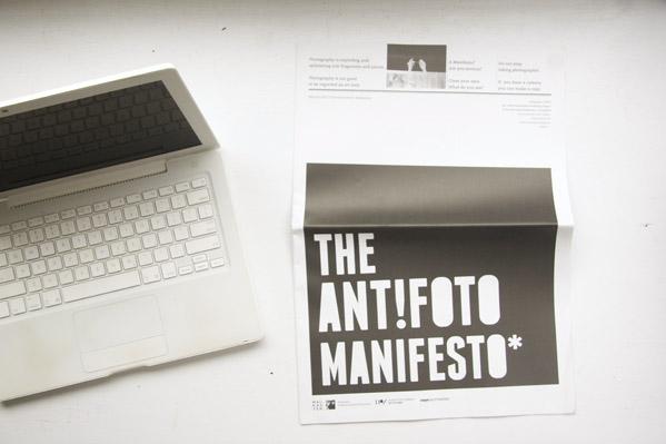 The Antifoto Manifest © Boehm/Kobayashi