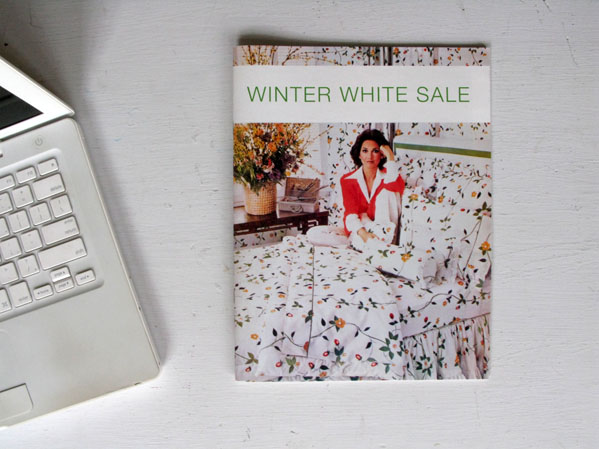 Winter White Sale © Alex Sweetman / Paula Gillen