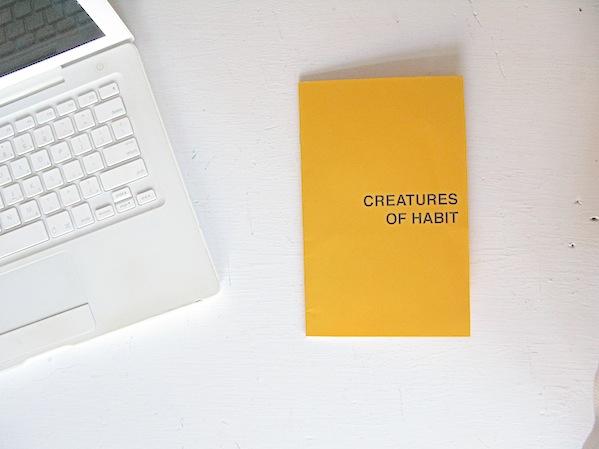 Creatures of Habit ©Britannie Bond, Elicia Epstein, Cait Kovac, Zak Long, Nate Matos, Sam Slater, Harry Snowden, Jeff Wagar