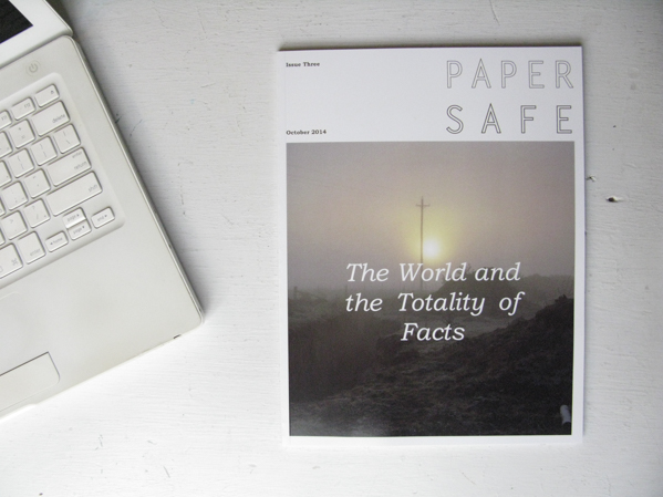 Papersafe Issue 02: The World and the Totality of Facts