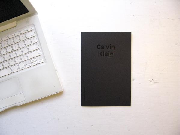 Calvin Klein, the dyslexic collection © Jan Dirk van der Burg
